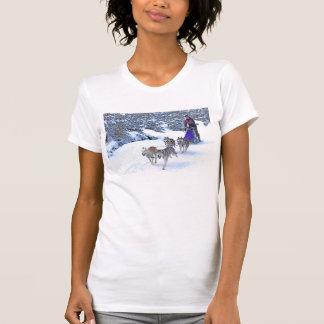 Schlitten-Hunderennen Shirt