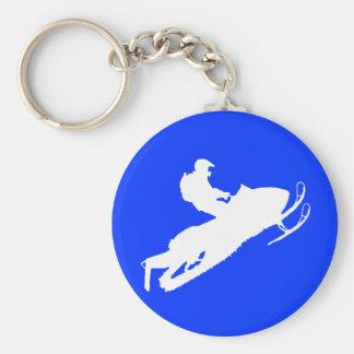 Schlitten-Schlüsselkette Standard Runder Schlüsselanhänger