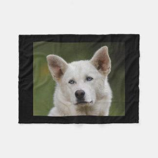 Schlittenhund Fleecedecke
