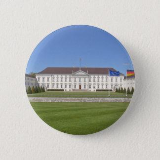 Schloss Bellevue, Berlin Runder Button 5,7 Cm