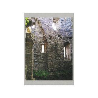 Schloss Caulfied Ruinen Leinwanddruck