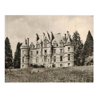 Schloss Chateau de la Roches Bagnoles Replik 1925 Postkarte