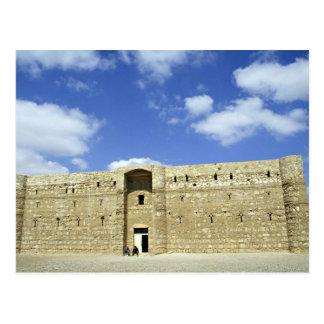 Schloss der Wüste, Quasr EL Amra, Jordanien Postkarte