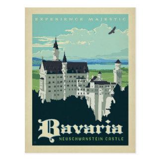 Schloss des Bayern-  Neuschwanstein Postkarte