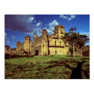 Schloss des Kaisers Fasiladas bei Gondar, Postkarte