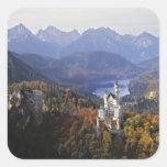 Schloss Deutschlands, Bayern, Neuschwanstein. Köni Sticker