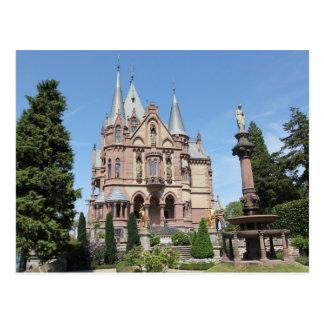 Schloss Drachenburg auf Drachenfels Postkarte