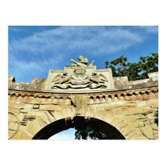 Schloss-Emblem Postkarte