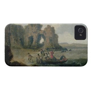 Schloss-Felsen (Flatholm Insel), Bristol-Kanal, 17 Case-Mate iPhone 4 Hülle