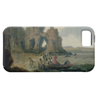 Schloss-Felsen (Flatholm Insel), Bristol-Kanal, 17 Tough iPhone 5 Hülle
