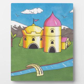 Schloss Fotoplatte