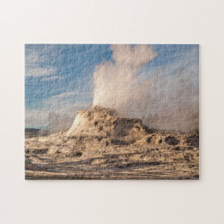 Schloss-Geysir in Yellowstone Nationalpark Puzzle