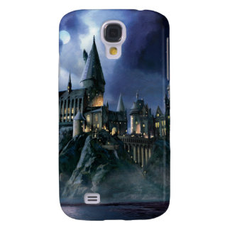 Schloss Harry Potters | Hogwarts nachts Galaxy S4 Hülle