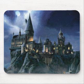 Schloss Harry Potters   Hogwarts nachts Mousepad