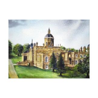 Schloss Howard, York, England Leinwanddruck