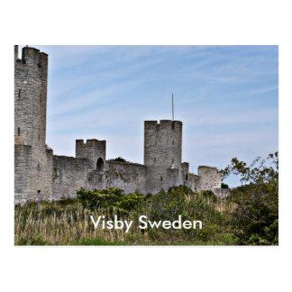 Schloss in Visby, Visby Gotland Schweden Postkarte