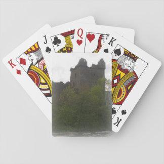 Schloss-Karten Spielkarten