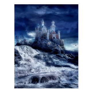 Schloss meiner Träume Postkarte