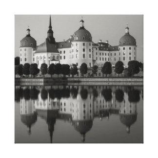 Schloss Moritzburg Sachsen Leinwanddruck