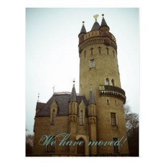 Schloss • Neue Zuhause-Postkarte Postkarten