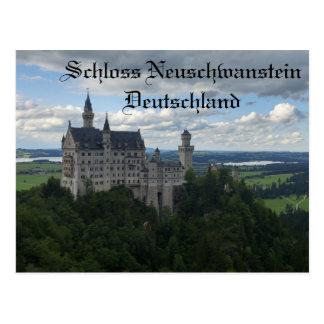 Schloss Neuschwanstein Schloss-Postkarte Postkarte