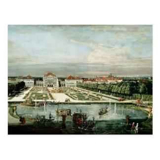 Schloss Nymphenburg, 1761 Postkarte