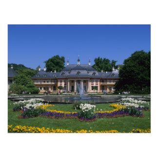 Schloss Pillnitz, Dresden, Sachsen, Deutschland Postkarte