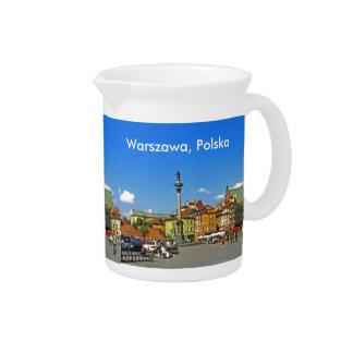 Schloss-Quadrat, Warschau, Polen Getränke Pitcher