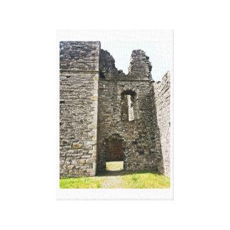 Schloss-Ruinen Leinwanddruck