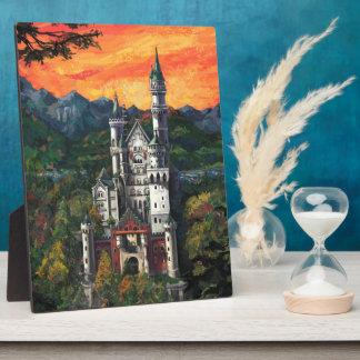 Schloss Schloss Neuschwanstein Fotoplatte