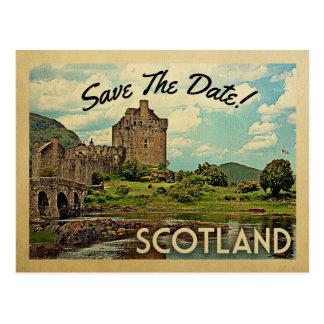 Schloss Schottlands Save the Date Eilean Donan Postkarte