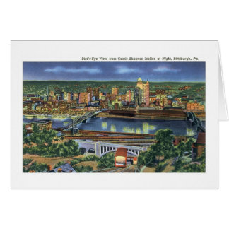 Schloss Shannon Neigung, Pittsburgh, PA Karte