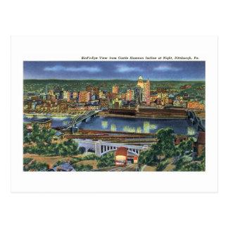 Schloss Shannon Neigung, Pittsburgh, PA Postkarte