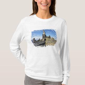 Schloss Sinclair Girnigoe, Docht, Caithness, T-Shirt