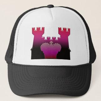 Schloss und königliche Krone Truckerkappe