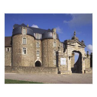Schloss und Museum, Boulogne, Pas-de-Calais, Kunst Foto