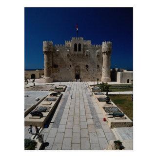 Schloss von Qaitbay, Alexandria, Ägypten Postkarte