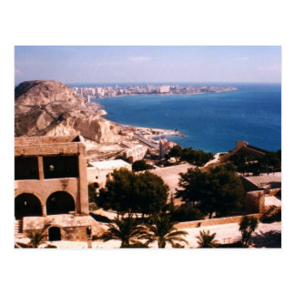Schloss von Santa Barbara Postkarte
