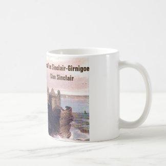 Schlösser Sinclair-Girnigoe - Clan Sinclair Kaffeetasse