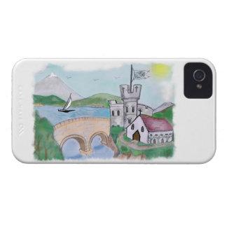 Schlösser - traditionelle Kanal-Volkskunst iPhone 4 Cover