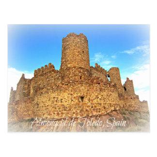 Schlossruinen des moslemischen Ursprung Postkarte