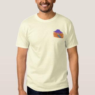 Schlucht Besticktes T-Shirt