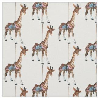 Schlucht-Echo-Giraffe Stoff