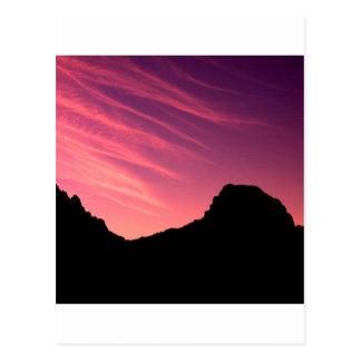 Schlucht Malibu Kalifornien Postkarte