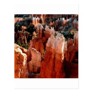 Schlucht-Turm-Ansicht Bryce Postkarte