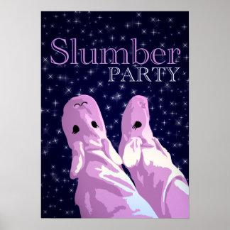 Schlummer-Party nightshine Poster