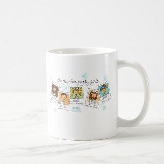 Schlummer-Partymädchen Kaffeetasse