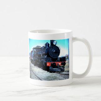 Schluss-Lauf Kaffeetasse