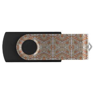 Schlüssel usb orangeer Pop- Grund USB Stick