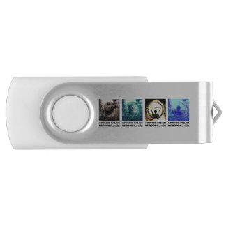 "Schlüssel USB ""Stoned wash Records"" 8 bis 128 Go USB Stick"